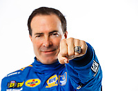Feb 7, 2018; Pomona, CA, USA; Detailed view of the championship ring on the hand of NHRA funny car driver Ron Capps as he poses for a portrait during media day at Auto Club Raceway at Pomona. Mandatory Credit: Mark J. Rebilas-USA TODAY Sports
