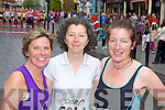 Mags Moriarty, Margaret Walshg and Sheila Kerley at the Mini maraton in Killarney on Saturday
