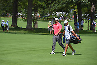 Jon Rahm (ESP) makes his way to the green on 3 during Rd4 of the 2019 BMW Championship, Medinah Golf Club, Chicago, Illinois, USA. 8/18/2019.<br /> Picture Ken Murray / Golffile.ie<br /> <br /> All photo usage must carry mandatory copyright credit (© Golffile | Ken Murray)