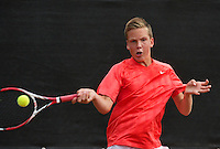 August 8, 2014, Netherlands, Rotterdam, TV Victoria, Tennis, National Junior Championships, NJK,  Stijn Janssen (NED)<br /> Photo: Tennisimages/Henk Koster