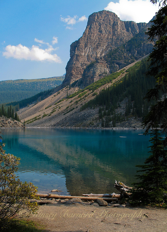 Moraine Lake near Lake Louise in Banff National Park