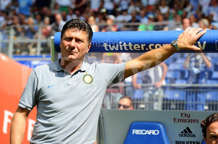 FUSSBALL   1. BUNDESLIGA   SAISON 2013/2014   TESTSPIEL  Hamburger SV - Inter Mailand             27.07.2013 Trainer Walter Mazzarri (Inter Mailand)