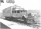 RGS Goose #5 at Ridgway depot.<br /> RGS  Ridgway, CO  Taken by Treptow, Russell F. - 6/5/1942