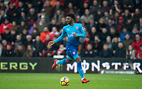 Ainsley Maitland-Niles of Arsenal during the Premier League match between Bournemouth and Arsenal at the Goldsands Stadium, Bournemouth, England on 14 January 2018. Photo by Andy Rowland.