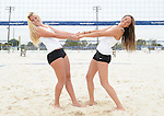 Tulane Sand Volleyball defeats LSU in the home opener held at Coconut Beach in Kenner. Additional images are from the team photoshoot prior to the match.