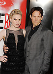 HOLLYWOOD, CA - MAY 30: Anna Paquin and Stephen Moyer arrive at HBO's 'True Blood' Season 5 Los Angeles premiere at ArcLight Cinemas Cinerama Dome on May 30, 2012 in Hollywood, California.