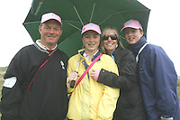 Robert, Vanessa and Lauren Reddan with Elaine Murphy at the 3 Irish Open Golf in Baltray...Photo NEWSFILE/Jenny Matthews.(Photo credit should read Jenny Matthews/NEWSFILE)....This Picture has been sent you under the condtions enclosed by:.Newsfile Ltd..The Studio,.Millmount Abbey,.Drogheda,.Co Meath..Ireland..Tel: +353(0)41-9871240.Fax: +353(0)41-9871260.GSM: +353(0)86-2500958.email: pictures@newsfile.ie.www.newsfile.ie.FTP: 193.120.102.198.