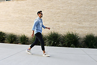 San Jose, CA - Wednesday August 29, 2018: Chris Wondolowski prior to a Major League Soccer (MLS) match between the San Jose Earthquakes and FC Dallas at Avaya Stadium.