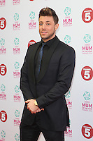 Duncan James arriving at the Tesco Mum Of The Year Awards 2014, at The Savoy, London. 23/02/2014 Picture by: Alexandra Glen / Featureflash