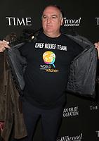 05 January 2019 - Los Angeles, California - Jose Andres. Sean Penn CORE Gala: Benefiting the organization formerly known as J/P HRO & Its Life-Saving Work Across Haiti & the World held at Wiltern Theater. Photo Credit: Faye Sadou/AdMedia