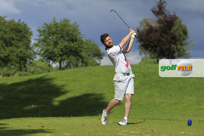 Liam Grehan (Mullingar) on the 10th tee during Round 4 of the 2016 Connacht Strokeplay Championship at Athlone Golf Club on Sunday 12th June 2016.<br /> Picture:  Golffile | Thos Caffrey