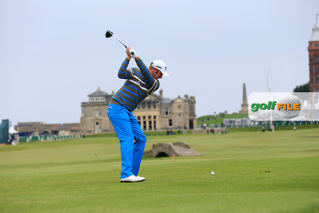 MikkoIlonen on day two of the Alfred Dunhill links Championship Old Course, St Andrews, Fife, Scotland.<br /> Picture Fran Caffrey www.golffile.ie
