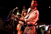 Seth Avett on stage at the Birchmere in Alexandria, VA, Friday, June 20, 2008.