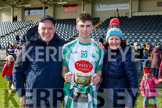 Darragh Reen Na Gaeil celebrate  after defeating Mullinahone in the Munster Junior Championship final on Sunday