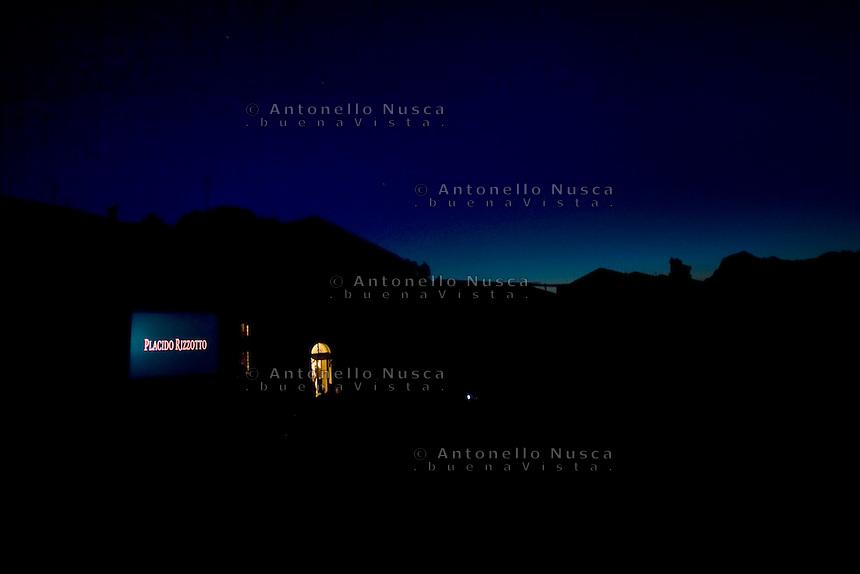 Portella della Ginestra, Luglio 2006. La proiezione del film su Placido Rizzotto nell'Agriturismo della Cooperativa Placido Rizzotto in occasione della 48 ore contro le mafie.