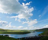 Craig Goch dam and reservoir, Eland Valley, Powys, Wales