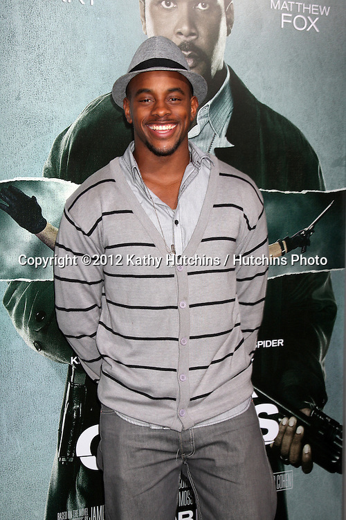 """LOS ANGELES - OCT 15:  Brandon Mitchell arrives at the """"Alex Cross"""" Premiere at ArcLight Cinemas Cinerama Dome on October 15, 2012 in Los Angeles, CA"""