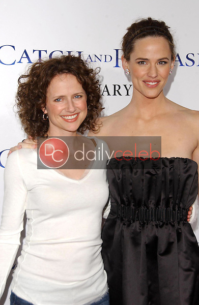 Jean Louisa Kelly and Jennifer Garner<br />