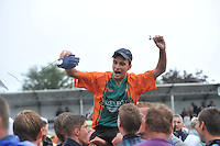 KAATSEN: WOMMELS: 07-08-2013, Freule Kaatspartij, Winnaar Dronryp VvV Sjirk de Wal, Sander Kingma, ©foto Martin de Jong