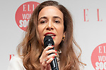 (L to R) Cartier President and CEO Veronica Prat van Thiel speaks during the ELLE WOMEN in SOCIETY 2018 on June 16, 2018, Tokyo, Japan. The annual event focuses on working women's role in the Japanese society through various seminars where top businesswomen, celebrities and leaders are invited to speak. (Photo by Rodrigo Reyes Marin/AFLO)