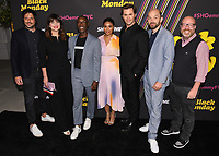 "14 May 2019 - North Hollywood, California - David Caspe, Casey Wilson, Don Cheadle, Regina Hall, Andrew Rannells, Paul Sheer, Jordan Cahan. Showtimes Emmy® For Your Consideration ""Black Money"" held at The Saban Media Center. Photo Credit: Billy Bennight/AdMedia"