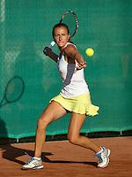 12-08-13, Netherlands, Raalte,  TV Ramele, Tennis, NRTK 2013, National RankingTennis Championships 2013,  Olga Kalyuzhnaya<br /> <br /> Photo: Henk Koster