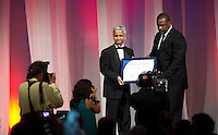Jeffrey Webb, Sunil Gulati. US Soccer held their Centennial Gala at the National Building Museum in Washington DC.