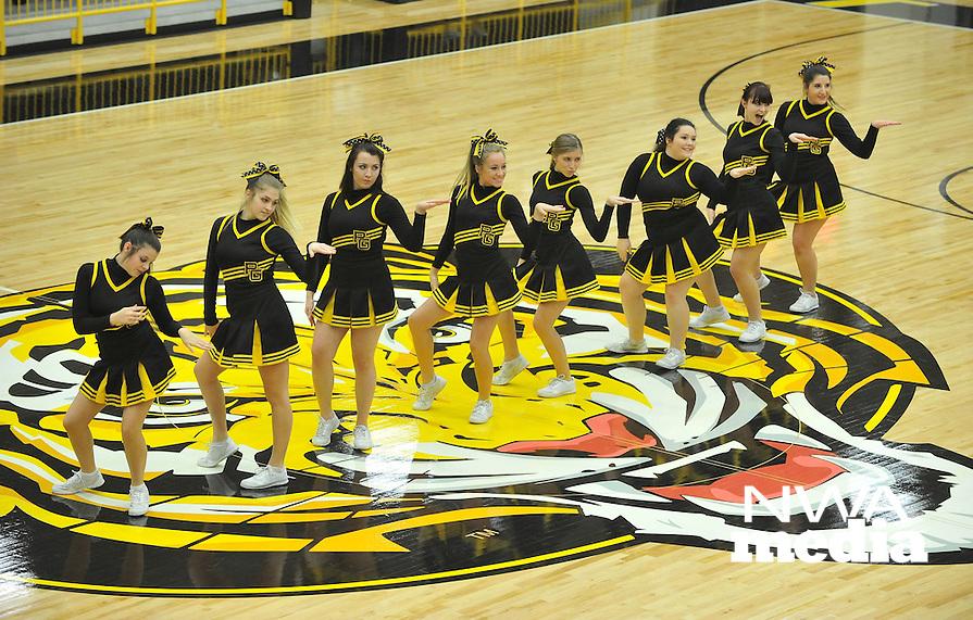 NWA Democrat-Gazette/MICHAEL WOODS &bull; @NWAMICHAELW<br /> The Gravette Lions vs the Prairie Grove Tigers Tuesday January 26, 2016 during their game at Prairie Grove High School.