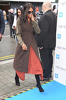 LONDON, UK. March 06, 2019: Naomie Campbell arriving for WE Day 2019 at Wembley Arena, London.<br /> Picture: Steve Vas/Featureflash