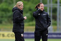 Jayne Ludlow Head Coach of Wales Women's' 'during the Women's International Friendly match between Wales and New Zealand at the Cardiff International Sports Stadium in Cardiff, Wales, UK. Tuesday 04 June, 2019