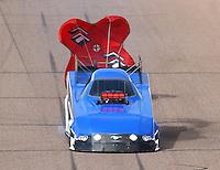 Feb 26, 2017; Chandler, AZ, USA; NHRA funny car driver Gary Densham during the Arizona Nationals at Wild Horse Pass Motorsports Park. Mandatory Credit: Mark J. Rebilas-USA TODAY Sports