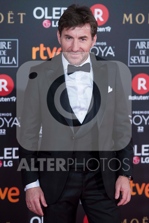 Antonio de la Torre attends red carpet of Goya Cinema Awards 2018 at Madrid Marriott Auditorium in Madrid , Spain. February 03, 2018. (ALTERPHOTOS/Borja B.Hojas)