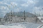 July 2006:  Sand dunes along Grayton Beach, Florida.