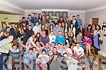 Sean Hurley from Killarney surrounded by friends and family celebrating his 18th Birthday in the Old Killarney Inn last Saturday night.