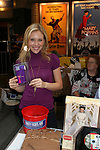 """Amanda Baker - AMC """"Babe Chandler"""" attends the 22nd Annual Broadway Flea Market and Grand Auction to benefit Broadway Cares / Equity Fights Aids on Sunday 21, 2008 in Shubert Alley, New York City, NY. (Photo by Sue Coflin/Max Photos)"""