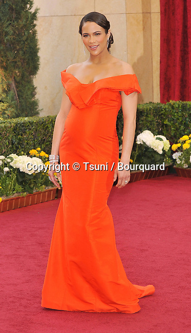 Paula Patton _207   -<br /> 82nd Academy Awards arrival at the Kodak Theatre In Los Angeles.