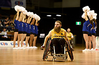 Opening Ceremony - Ben Fawcett (Aus)<br /> Australian Wheelchair Rugby Team<br /> 2018 IWRF WheelChair Rugby <br /> World Championship / Day 1<br /> Sydney  NSW Australia<br /> Sunday 5th August 2018<br /> &copy; Sport the library / Jeff Crow / APC