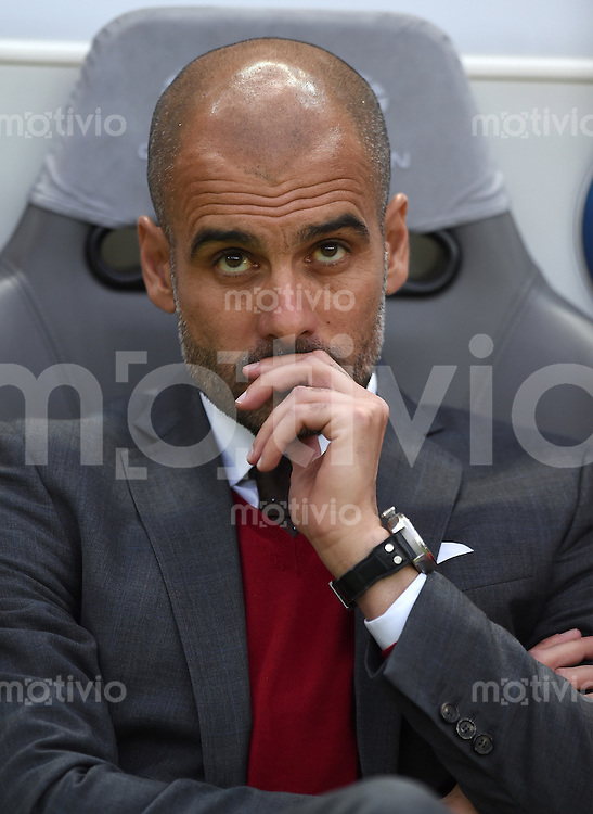 FUSSBALL  DFB POKAL FINALE  SAISON 2013/2014 Borussia Dortmund - FC Bayern Muenchen     17.05.2014 Trainer Pep Guardiola (FC Bayern Muenchen)
