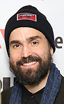 """Joe Tapper attends the """"Sea Wall / A Life"""" opening night at The Public Theater on February 14, 2019, in New York City."""