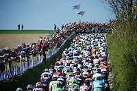 peloton over Gulpenerberg<br /> <br /> 50th Amstel Gold Race 2015