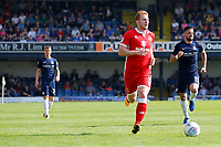 Dean Lewington of MK Dons in action during his 700th game during the Sky Bet League 1 match between Southend United and MK Dons at Roots Hall, Southend, England on 21 April 2018. Photo by Carlton Myrie.