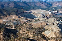 Tyrone Copper Mine.  Silver City, New Mexico.  Dec 13, 2012