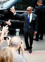 L.A. Reid arrives at the Frank Erwin Center in Austin, TX for the first day of audition for The X Factor on Thurs., May 24, 2012. copyright Media Punch Inc.