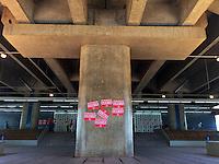 BRASILIA, DF, 08.10.2015 - METRÔ-GREVE- Estação de Metrô Águas Claras, uma das estações abertas durante a greve dos metroviários, nesta terça-feira, 03.(Foto:Ed Ferreira / Brazil Photo Press)