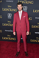 "LOS ANGELES, USA. July 10, 2019: Billy Eichner at the world premiere of Disney's ""The Lion King"" at the Dolby Theatre.<br /> Picture: Paul Smith/Featureflash"