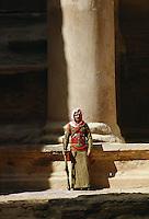 Camel Corps bodyguard, Petra, Jordan