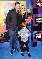WESTWOOD, CA - FEBRUARY 02: Scott Stuber, Molly Sims attends the Premiere Of Warner Bros. Pictures' 'The Lego Movie 2: The Second Part' at Regency Village Theatre on February 2, 2019 in Westwood, California.<br /> CAP/ROT/TM<br /> ©TM/ROT/Capital Pictures