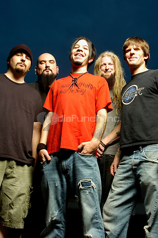 Portraits of Adema photographed in Chicago, Illinois.<br /> July 24,2007<br /> &copy; Gene Ambo / MediaPunch **NO UK or Japan***