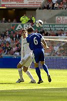 Saturday 22 September 2012 <br /> Pictured: Danny Graham<br /> Barclays Premiership, Swansea City v Everton at the Liberty Stadium, south Wales.
