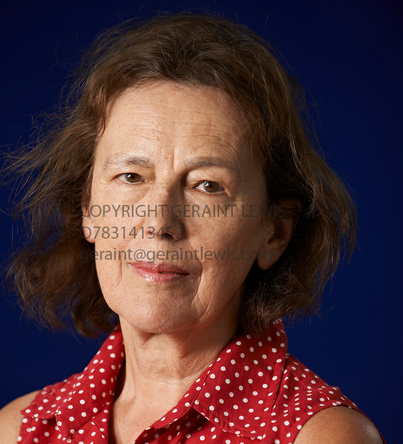 Claire Tomalin  writer  at The Edinburgh International Book Festival   . Credit Geraint Lewis